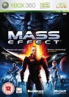 Portada oficial de de Mass Effect para Xbox 360