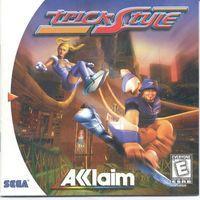 Portada oficial de Trickstyle para Dreamcast
