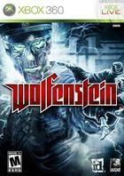 Portada oficial de de Wolfenstein para Xbox 360