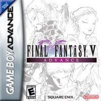 Portada oficial de Final Fantasy V Advance para Game Boy Advance