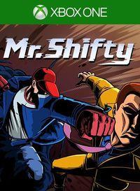 Portada oficial de Mr. Shifty para Xbox One