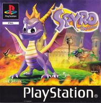 Portada oficial de Spyro the Dragon para PS One