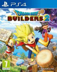 Portada oficial de Dragon Quest Builders 2 para PS4