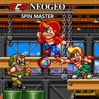 Portada oficial de NeoGeo Spin Master para Switch
