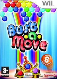 Portada oficial de Bust-A-Move Revolution para Wii