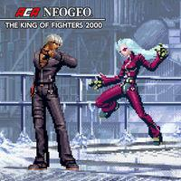 Portada oficial de NeoGeo The King of Fighters 2000 para Switch