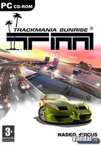 Portada oficial de TrackMania Sunrise para PC