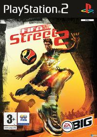 Portada oficial de FIFA Street 2 para PS2