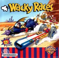 Portada oficial de Wacky Races para Dreamcast