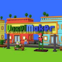 Portada oficial de VoxelMaker eShop para Nintendo 3DS