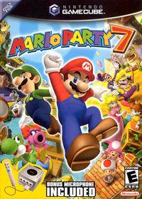 Portada oficial de Mario Party 7 para GameCube
