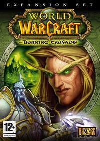 Portada oficial de World of Warcraft: The Burning Crusade para PC