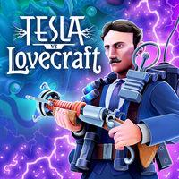 Portada oficial de Tesla vs Lovecraft para Switch