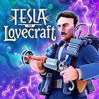 Portada oficial de de Tesla vs Lovecraft para Switch