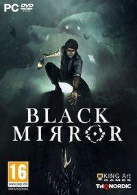 Portada oficial de Black Mirror para PC