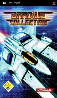 Portada oficial de Gradius Collection para PSP