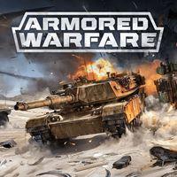 Portada oficial de Armored Warfare para PS4