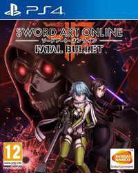 Portada oficial de Sword Art Online: Fatal Bullet para PS4