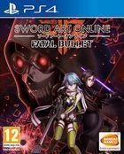 Portada oficial de de Sword Art Online: Fatal Bullet para PS4