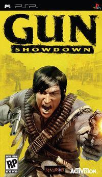 Portada oficial de Gun Showdown para PSP