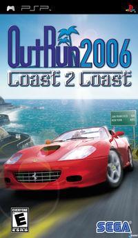 Portada oficial de Outrun 2006 Coast 2 Coast para PSP
