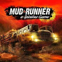 Portada oficial de Spintires: MudRunner para PS4