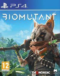Portada oficial de Biomutant para PS4