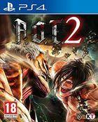 Portada oficial de de Attack on Titan 2 para PS4