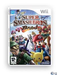 Portada oficial de Super Smash Bros. Brawl para Wii