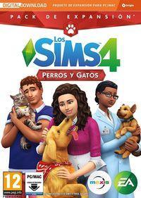 Portada oficial de Los Sims 4: Perros y Gatos para PC