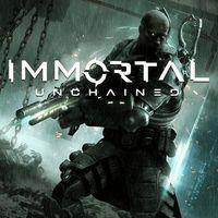 Portada oficial de Immortal: Unchained para PS4