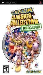 Portada oficial de de Capcom Classics Collection Reloaded para PSP