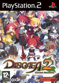 Portada oficial de Disgaea 2 para PS2