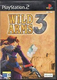 Portada oficial de Wild Arms 3 para PS2