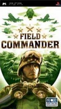 Portada oficial de Field Commander para PSP