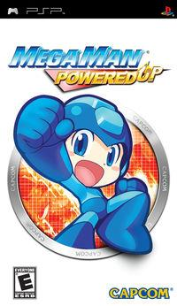 Portada oficial de Mega Man Powered Up para PSP