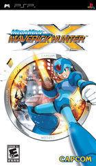 Portada oficial de de Mega Man Maverick Hunter X para PSP