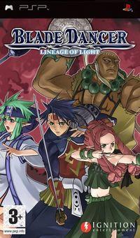 Portada oficial de Blade Dancer para PSP
