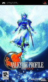 Portada oficial de Valkyrie Profile: Lenneth para PSP