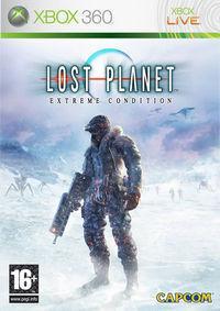 Portada oficial de Lost Planet para Xbox 360
