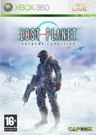 Portada oficial de de Lost Planet para Xbox 360