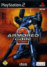 Portada oficial de Armored Core 2 para PS2