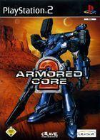 Portada oficial de de Armored Core 2 para PS2