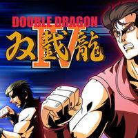 Portada oficial de Double Dragon 4 para Switch