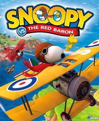 Portada oficial de Snoopy Vs. The Red Baron para PS2