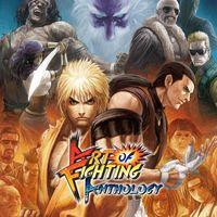 Portada oficial de Art of Fighting Anthology para PS4