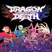 Portada oficial de Dragon Marked for Death para Switch