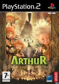 Portada oficial de Arthur and the Minimoys para PS2
