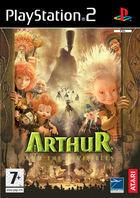 Portada oficial de de Arthur and the Minimoys para PS2
