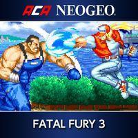 Portada oficial de NeoGeo Fatal Fury 3 para PS4